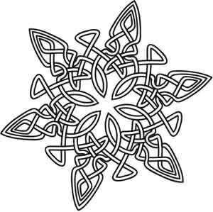 Celtic and Snowflakes on Pinterest