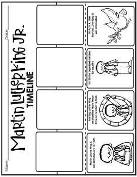 All Worksheets » Martin Luther King Jr Worksheets For