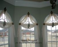 Arched Window Treatments--I like this, but will block ...