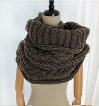 Ravelry: Keiko - infinity scarf, snood, cowl, bulky ...