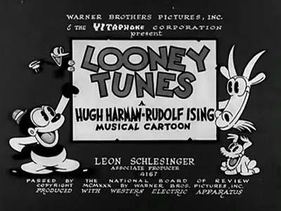 Looney Tunes Bosko In Sinkin In The Bathtub 1930