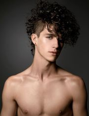 guy patrick rocks curly hairstyles