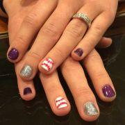 rockies baseball nails