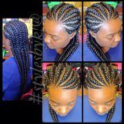 cornrows braids and goddess