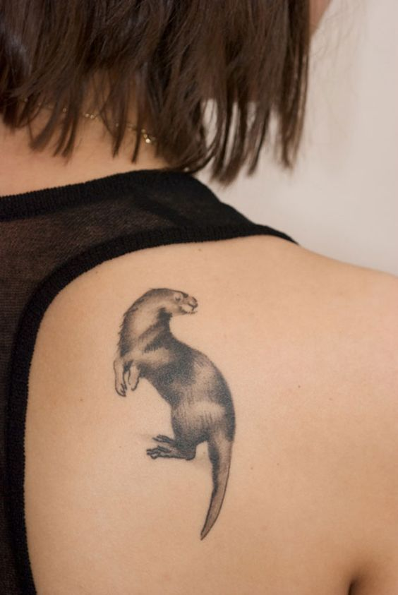 Otter Tattoo, Otter And Tattoos And Body Art On Pinterest