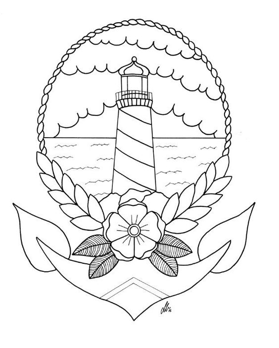 Anchors, Lighthouses and Etsy on Pinterest