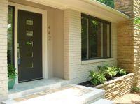 mid century modern front door | ... front door | Modern ...