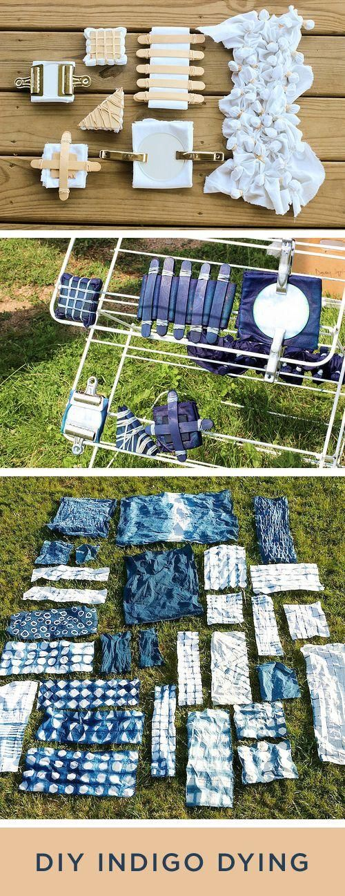 How To Shibori Dye With Natures Patterns PETROFORM