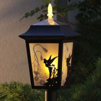 New Disney Tinker Bell Solar Light Lamp Lantern Garden ...