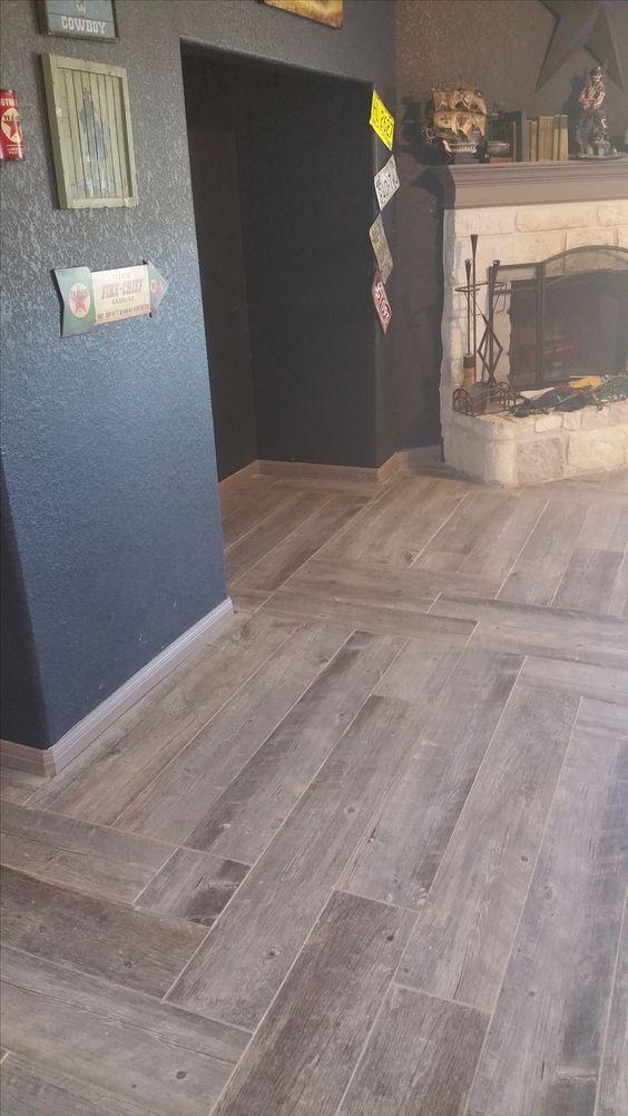 new floors natural timber ash porcelain tile  Home Improvement  Pinterest  Ash Porcelain
