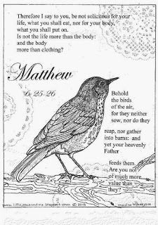 Coloring pages, Matthew 6 and Coloring on Pinterest