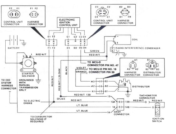 1981 Jeep Cj5 4 Cyl Wiring Diagram