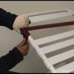 Redo Sling Patio Chairs Diy Wood Chair Cushion Vinyls, Other And Videos On Pinterest