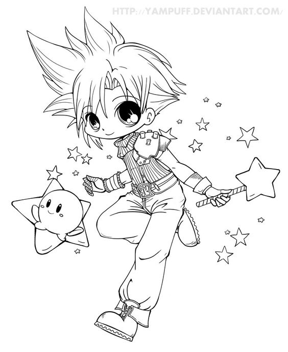 Cloud N Kirby By Yampuff On Deviantart