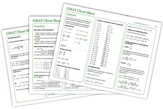 Math and Cheat sheets on Pinterest
