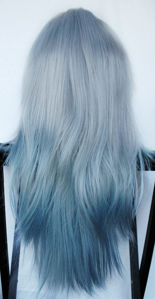 Blue Ombre With Arctic Fox YouTube Of Arctic Fox Hair