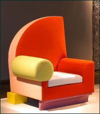 "Chair ""Bel Air"" Design for Memphis, Milano 1982, Italy"