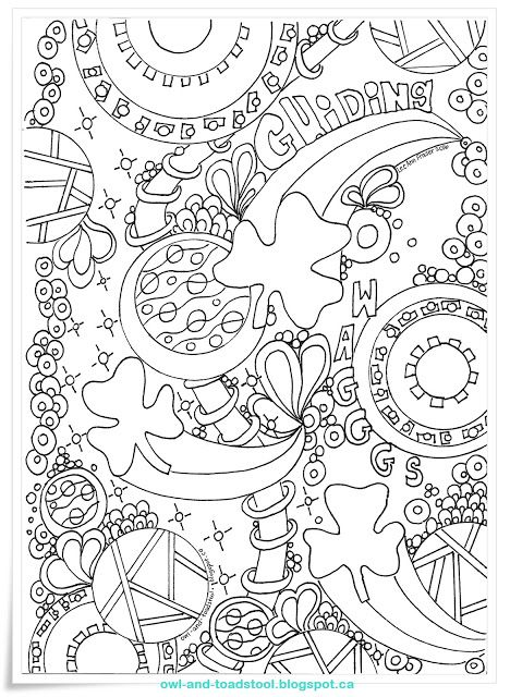 Guiding Wagggs Doodle by Lee Ann Fraser 2016 http://owl