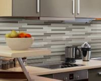 pencil tiles | Kitchen Reno Ideas | Pinterest | Splashback ...