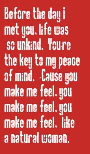 Aretha Franklin  A Natural Woman  Song Lyrics, Music