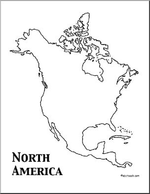 North America Theme Unit: Worksheets & Printables