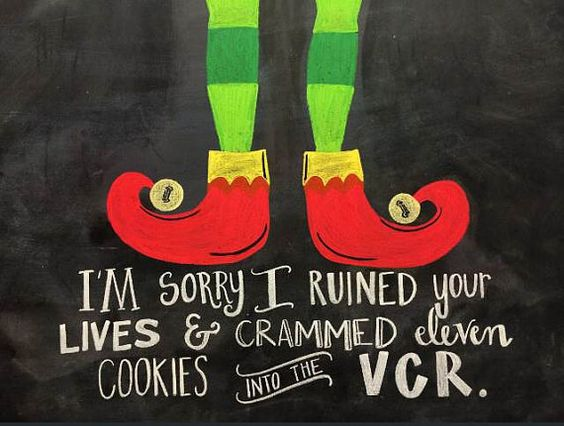 This is one of our favorite quotes from one of the best Christmas movies- Elf. Who doesnt love a good laugh from the one and only, Will: