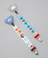 Owl & Elephant Pacifier Clips | Baby Boys... | Pinterest ...