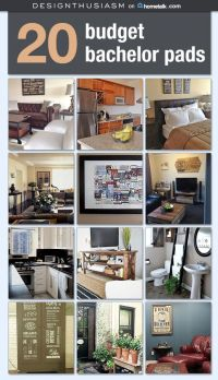 Bachelor Pad on a Budget: Awesome Room Ideas for Guys ...
