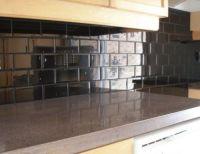 Black Subway Tile Kitchen Backsplash   For the Home ...