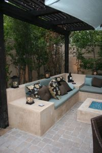 cozy fire pit area | Beach Living | Pinterest | Smooth ...