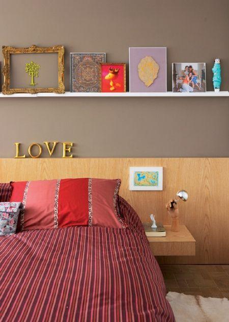 decoração do quarto de casal