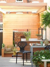 Small + Simple Outdoor Living Spaces | The two, Decks and ...