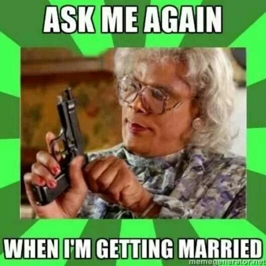 Image result for why are you not married yet