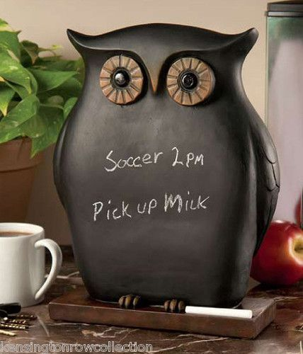 Owl Messages and Chalkboards on Pinterest