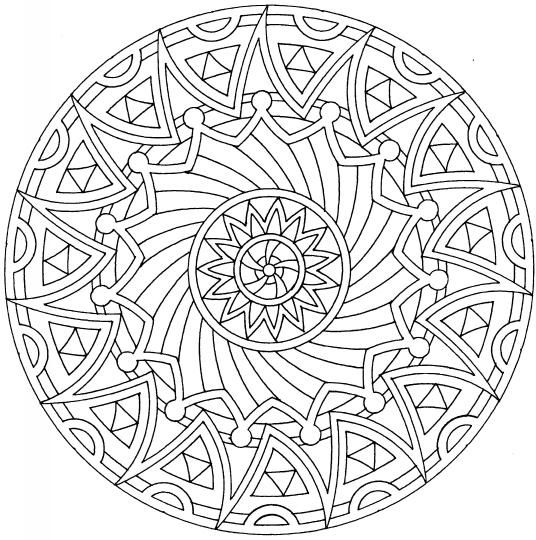 A well, Coloring and Mandalas on Pinterest