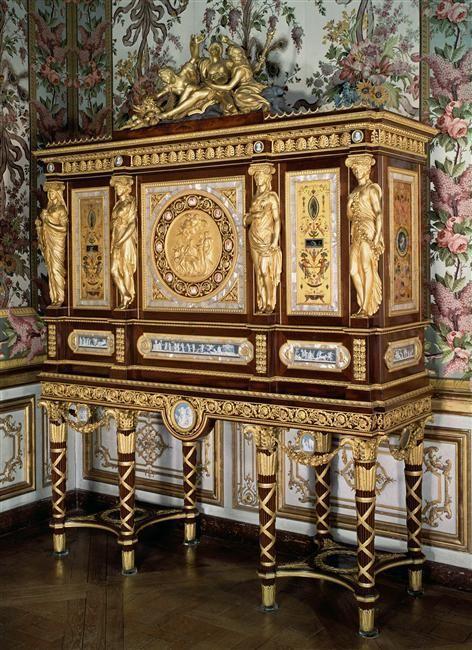 La chambre de La Reine à Versailles: