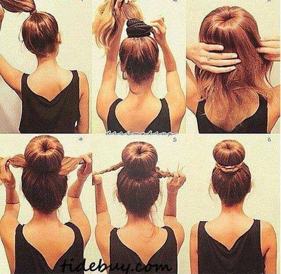 How To Do A Bun Hairstyle Gommap Blog