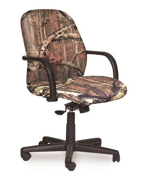 Camo office chair for the Duck Dynasty fan in you  For