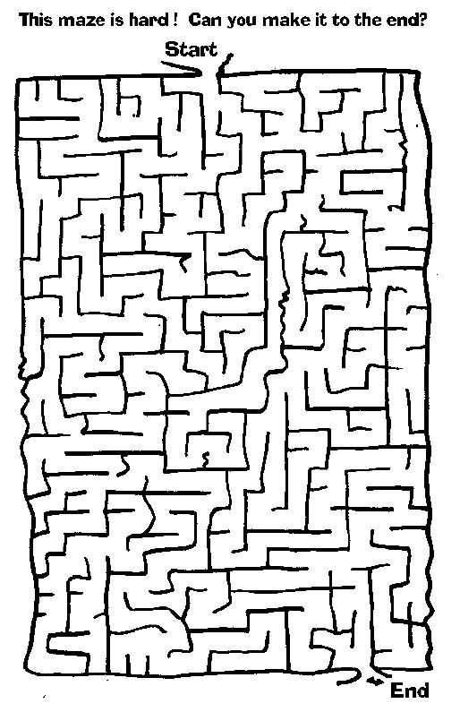 Maze, Free printable and Mazes for kids on Pinterest