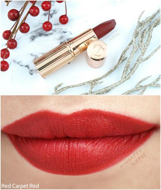 Charlotte Tilbury Matte Revolution Lipstick Red Carpet Red