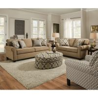 Simmons Upholstery Beachfront Froth Queen Sleeper by ...