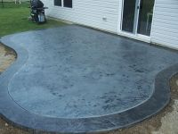 Clean concrete, Stains and Acrylics on Pinterest