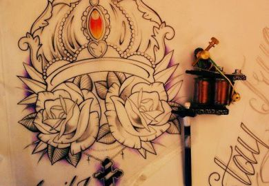 Crowns Tattoo Designs