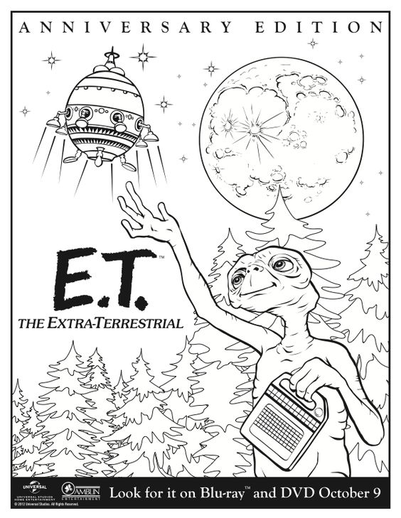Universal Studios Pages Coloring Pages