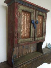 Rustic medicine cabinets, Primitive kitchen and Medicine ...