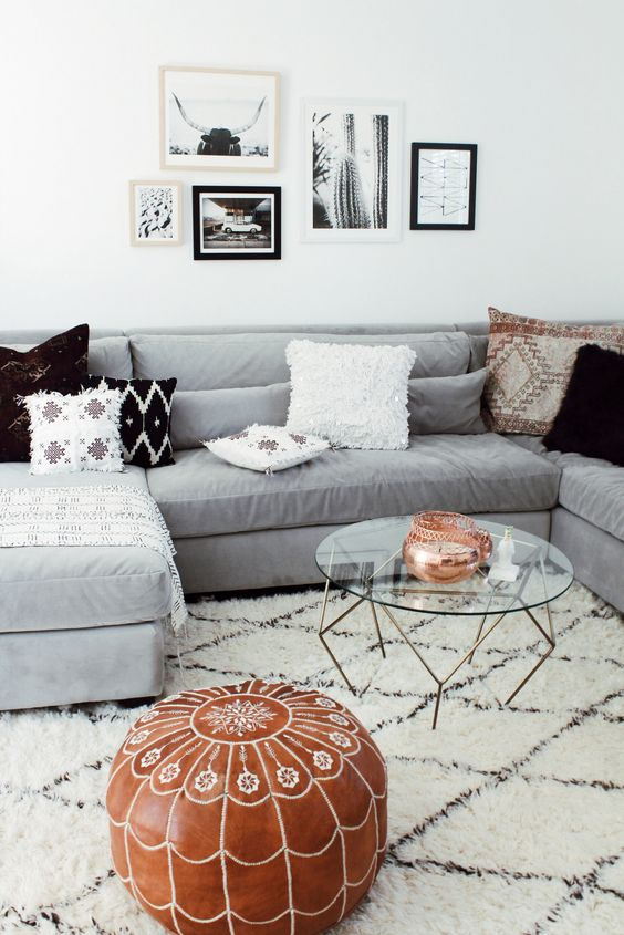 What Color Rug Goes With A Grey Couch  Buetheorg