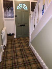 Tartan Carpet.. My new hall stairs and landing...   Hall ...