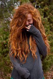 beautiful hair and love