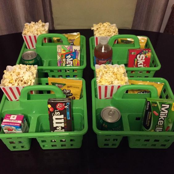 Awesome idea for a movie night with the kids. Found these at the dollar store to do this weekend with the kids and their cousins for movie night. Also found twister game!: