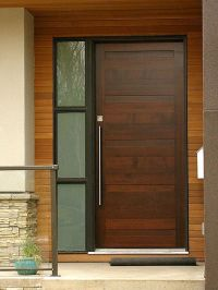 Contemporary front doors, Front doors and Doors on Pinterest